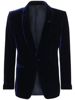 Viscose & Cupro Cocktail Jacket Tom Ford 73IY1B043-TkFWWQ2