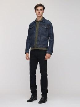 Comfort Denim Jacket Tom Ford 73IY1B031-QjE40