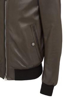 Plongé Leather Bomber Jacket Tom Ford 73IY1B021-VjA30