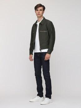 Brush Cotton Washed Shirt Jacket Tom Ford 73IY1B012-VjA40