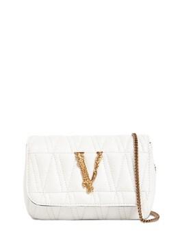 Сумка Из Кожи Virtus Versace 73IA87008-MVcwMFY1