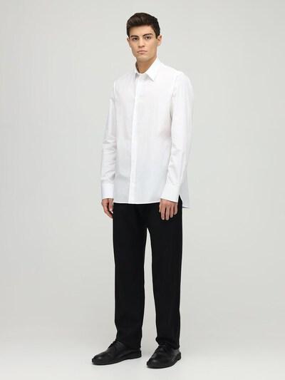 Рубашка Jasper Из Хлопка Поплин The Row 72IBF8004-V0hU0 - 2