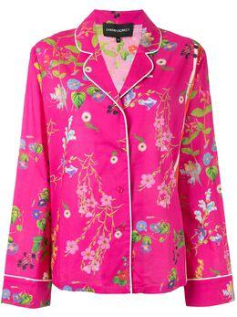 Cynthia Rowley пижамный топ с цветочным принтом 20F1TP52CO