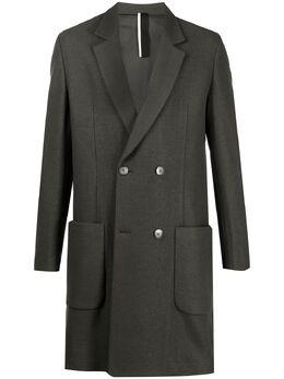 Low Brand двубортное пальто с заостренными лацканами L1JFW20213433