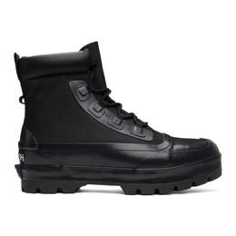 Ambush Black Converse Edition Chuck Rubber Boots 170588C