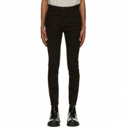 Dsquared2 Black Ripped Super Twinky Jeans S71LB0845 S30602