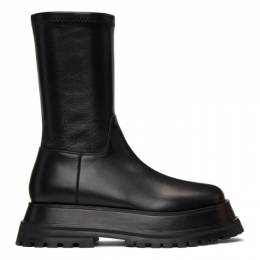 Burberry Black Hurr Boots 8031247