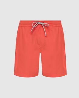 Оранжевые плавательные шорты Brunello Cucinelli 2300006463808