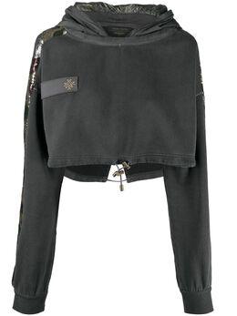 Mr & Mrs Italy худи с вышитым логотипом XSS0149