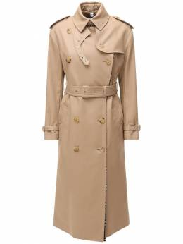 Double Breast Gabardine Trench Coat Burberry 72I5CE067-QTg3NDA1