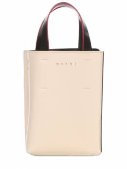 Nano Museo Leather Tote Bag Marni 73IVW4021-WjJOMDk1