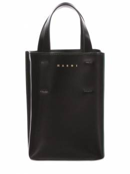 Nano Museo Leather Tote Bag Marni 73IVW4021-WjFOOTk1