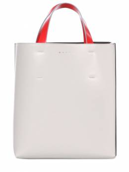 Small Museo Leather Tote Bag Marni 73IVW4020-WjJOMTA1