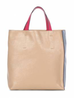Small Museo Soft Smooth Leather Tote Bag Marni 73IVW4018-WjJOMDM1