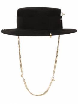 Фетровая Шляпа Piercing Ruslan Baginskiy 71IX4N019-QkxBQ0s1