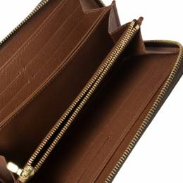 Louis Vuitton Monogram Canvas Zippy Wallet 364831