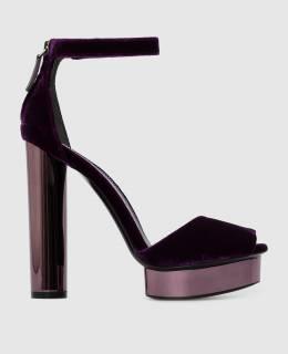 Фиолетовые босоножки Tom Ford 2300005586058