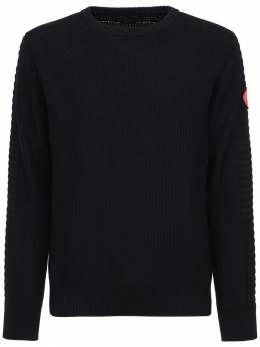 Paterson Wool Knit Sweater Canada Goose 72I0LF023-NjE1