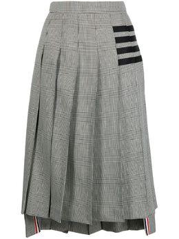Thom Browne плиссированная юбка миди FGC400A06392