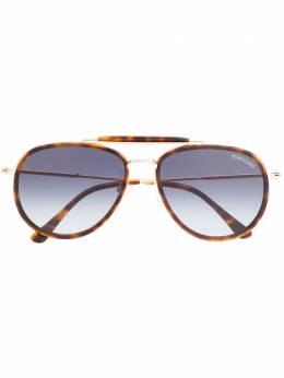 Tom Ford Eyewear солнцезащитные очки-авиаторы 'Tripp' TF666