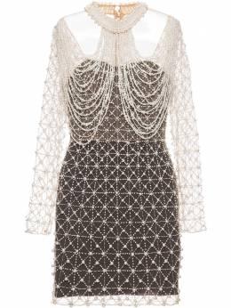 Patbo декорированное платье мини VEC11975US