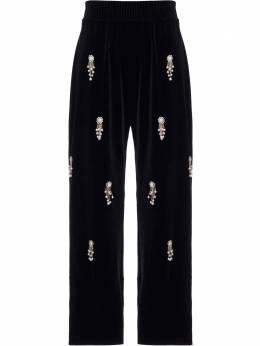 Patbo бархатные брюки с бисером CAL12012US