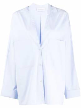 Christian Wijnants рубашка оверсайз с V-образным вырезом TASHVI5128