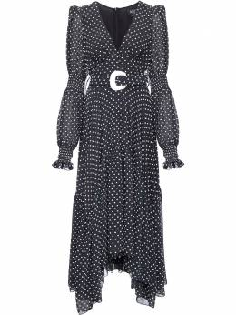 Patbo платье миди в горох с поясом VEM11637US