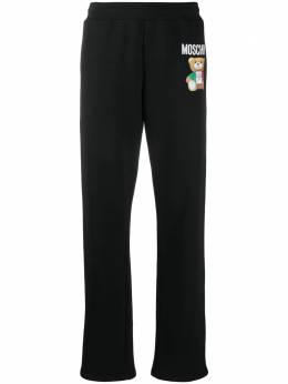 Moschino спортивные брюки с логотипом V03090527