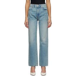 Slvrlake Blue London Crop Jeans LNDJ707SSAFL