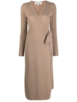 Dvf Diane Von Furstenberg платье тонкой вязки с запахом 13334DVF