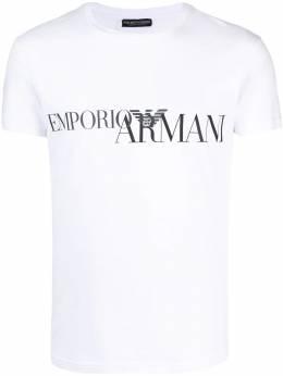 Emporio Armani футболка с логотипом 1110350A516