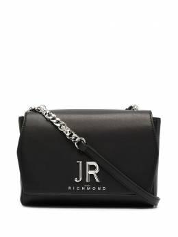 John Richmond большая сумка через плечо с логотипом RWA20439BO