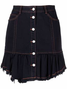 Sjyp джинсовая юбка асимметричного кроя PW2A3WSC049W