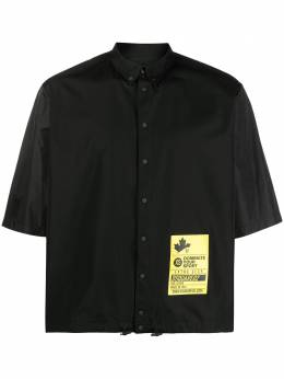 Dsquared2 рубашка с нашивкой-логотипом S74DM0476S36275