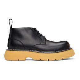 Bottega Veneta Black The Bounce Lace-Up Boots 651256 V00H0