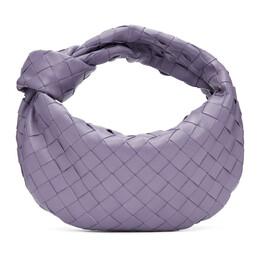 Bottega Veneta Purple Mini Intrecciato Jodie Bag 651876 VCPP5