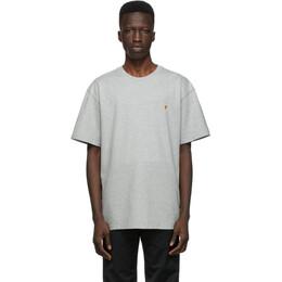 Carhartt Work In Progress Grey Chase T-Shirt I026391