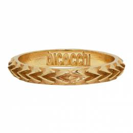 Emanuele Bicocchi Gold Arrow Ring ARA1G