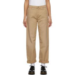 Carhartt Work In Progress Brown W' Pierce Jeans I028635 07E3K