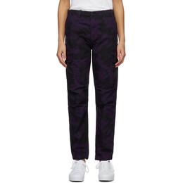 Carhartt Work In Progress Purple Cymbal Trousers I026592 0G402