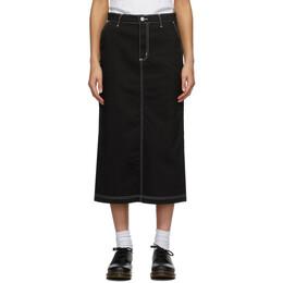 Carhartt Work In Progress Black Pierce Skirt I028648 8902