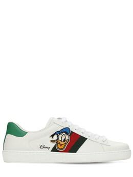 Кроссовки New Ace Donald Duck Gucci 73IH0M011-OTExNA2
