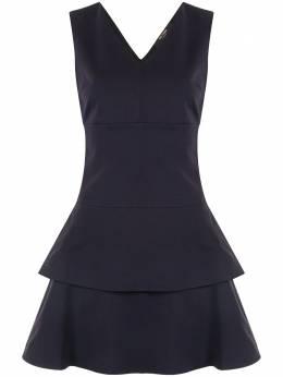 Twin-Set ярусное платье миди из джерси 202TQ2032S13133