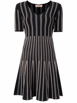 Twin-Set платье с V-образным вырезом 202TQ3014S13126
