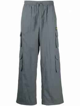 Daily Paper прямые брюки карго 2021330