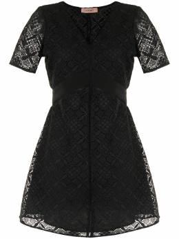 Twin-Set кружевное платье мини 202TQ2044S13129