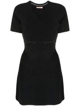 Twin-Set платье мини с перфорацией 202TQ3010S13126