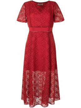 Twin-Set кружевное платье миди 202TQ2045S13129