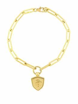 Foundrae золотой браслет Abundant Love с подвеской CB7ABUNDANTLOVE